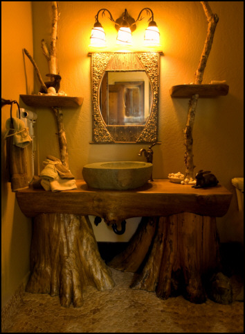 Traditional Rustic Bathroom Lighting Fixtures
