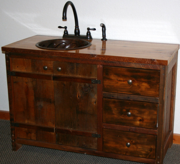 Rustic Bathroom Vanities Bathroom Designs In Pictures