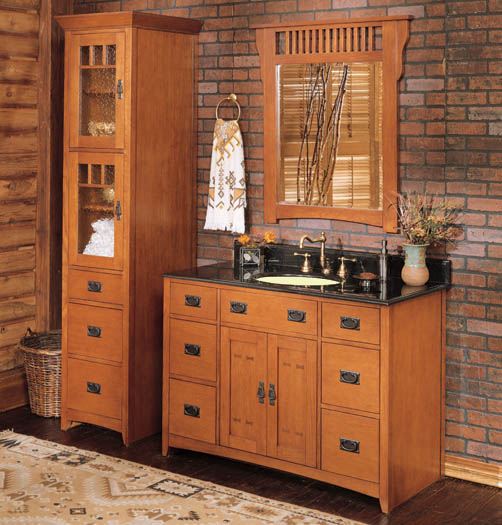 Bathroom vanities and bathroom cabinets is the heart of modern
