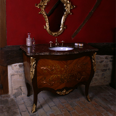 Vanities Traditional Contemporary Bathroom