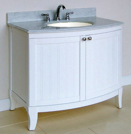 White Bathroom Vanities